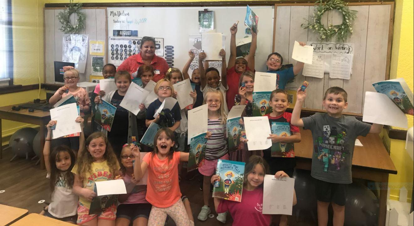 Mrs. Dodson's 2nd Grade Class RHMS