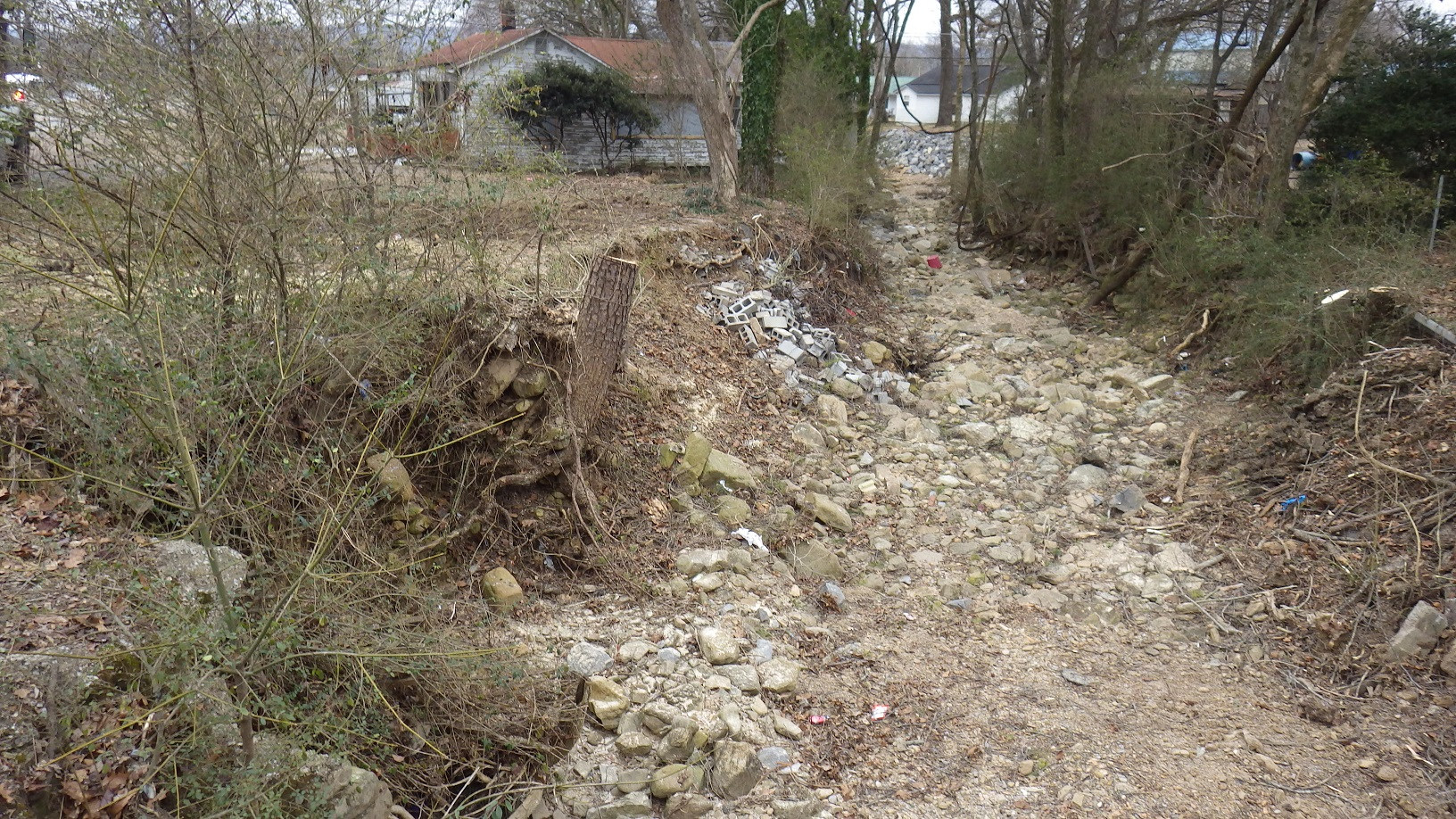 Bank Erosion Project, South Pittsburg